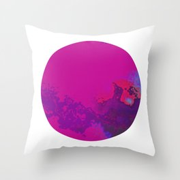 Vivid Planet 08 Throw Pillow