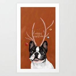 Beatriz : Christmas Art Print