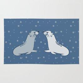 Winter Seals Rug