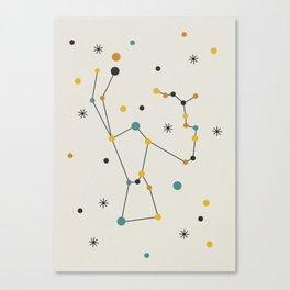 Orion Constellation Canvas Print