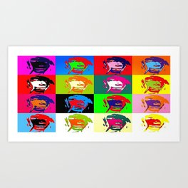 Free In Colorfulness Art Print