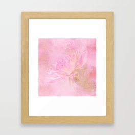 The Best Things In Life Are Unseen - Flower Art Framed Art Print