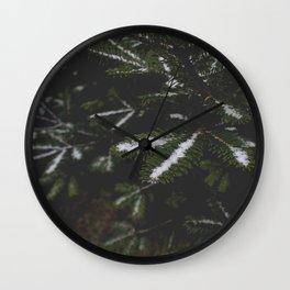 Firs. Wall Clock
