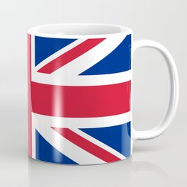 UK FLAG - The Union Jack Authentic color and 3:5 scale  Coffee Mug