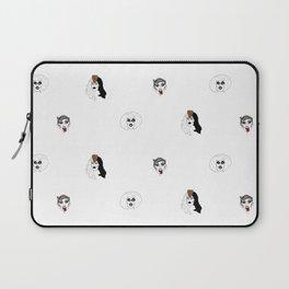 Sharon Needles pattern Laptop Sleeve
