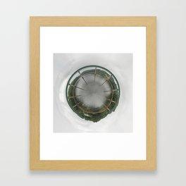 Bridge Planet Framed Art Print