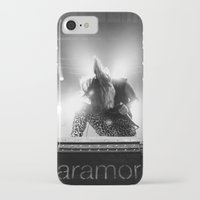 hayley williams iPhone & iPod Cases featuring Hayley Williams by Ethan Luck