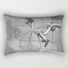 Commuter Bike Rectangular Pillow