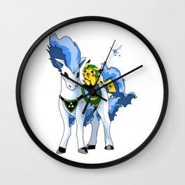 Link ichu and shiny e Wall Clock