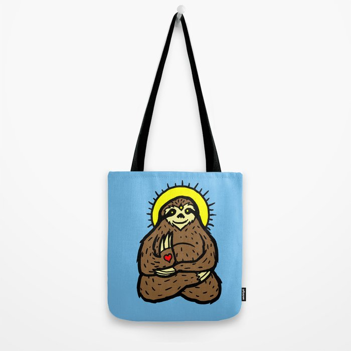 Buddha Sloth Tote Bag