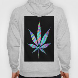 Weed : High Time Colorful Psychedelic Hoody