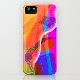 Digital Abstract #2 iPhone Case