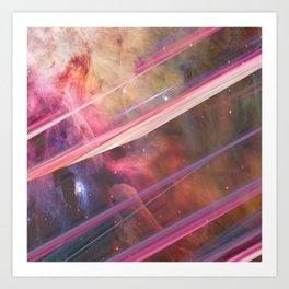 Twisted Nebula Art Print