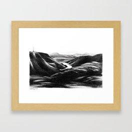 Svartediket Framed Art Print