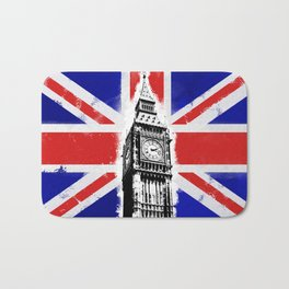 Union Jack Big Ben Bath Mat