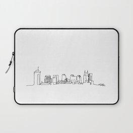 Nashville Skyline Drawing Laptop Sleeve