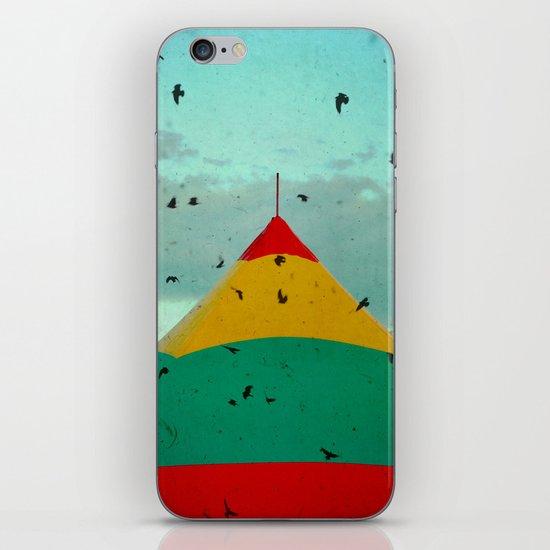 Circus Birds iPhone & iPod Skin