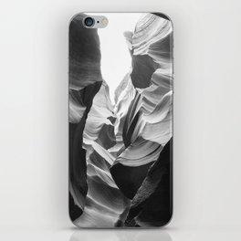 ANTELOPE CANYON (B+W) iPhone Skin