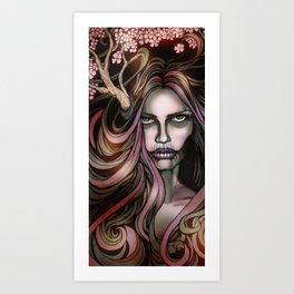 The Secret Blossoming Art Print