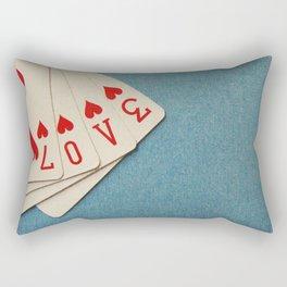 A Full House Rectangular Pillow