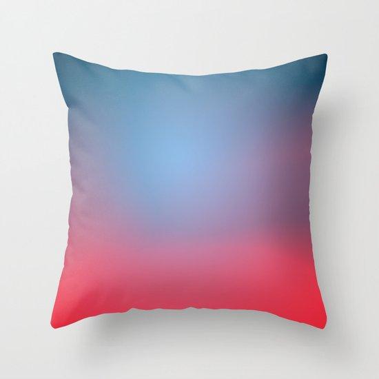 Soft Horizon Throw Pillow