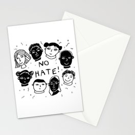 No Hate Stationery Cards