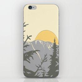 Ski Mountain Sun and Trees - Breckenridge  iPhone Skin