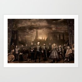 My Chemical Romance - The Black Parade - Wallpaper Art Print