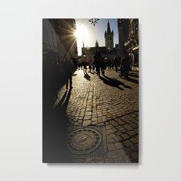 Trier Street Scene Metal Print