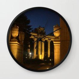 Palace Night Wall Clock