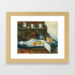 The Buffet Framed Art Print