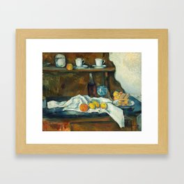 The Buffet Framed Art Print