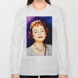 Olivia de Haviland, Vintage Actress Long Sleeve T-shirt