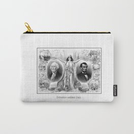 Presidents Washington and Lincoln Carry-All Pouch