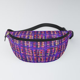 Psychedelic art in chaotic visual colors and shapes - DDF620 Fanny Pack