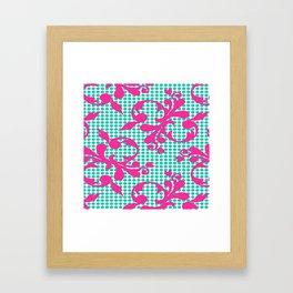 Dot Framed Art Print