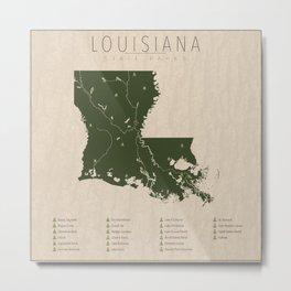 Louisiana Parks Metal Print