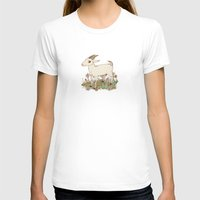 goat T-shirts featuring GOAT by Gwendolyn Wood