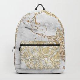 Mandala - Golden drop Backpack