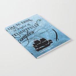 Delightfully complex quote - Nikolai Lantsov - Leigh Bardugo Notebook