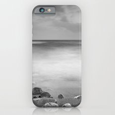 Black stones. Monochrome. Slim Case iPhone 6s