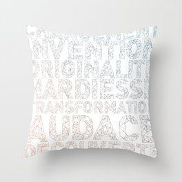 INNOVATION - SYNONYMS Throw Pillow
