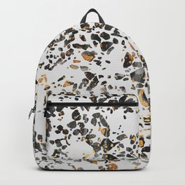 Gold Speckled Terrazzo Backpack