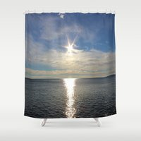 shining Shower Curtains featuring Shining by NaturallyJess