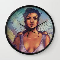 roman Wall Clocks featuring Roman by ashurcollective