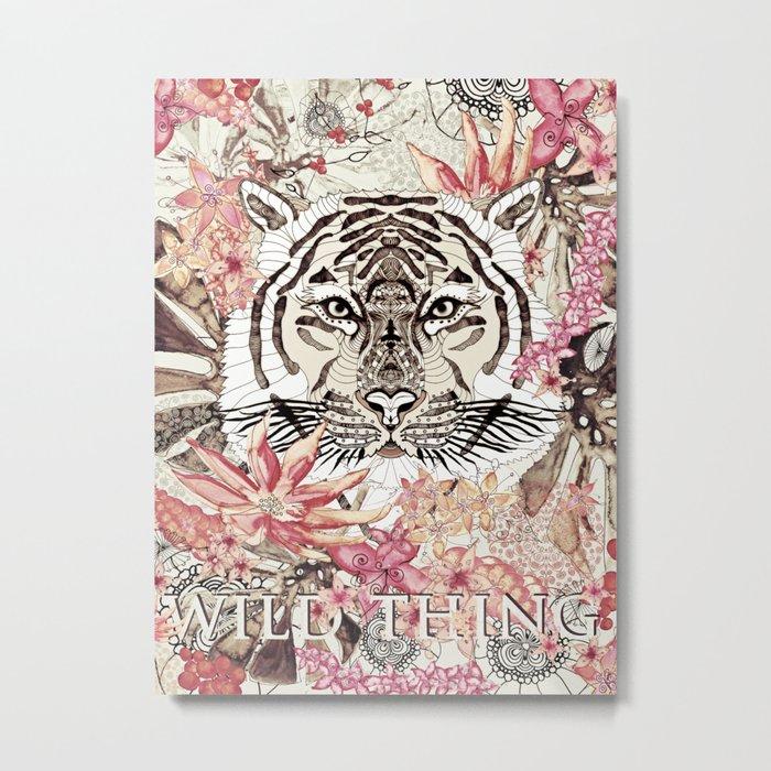 WILD THING Metal Print
