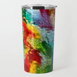 Magic Carpet Ride Abstract Travel Mug