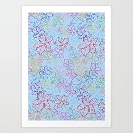 pattren v6 Art Print