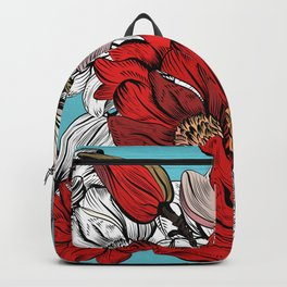 Red Magnolia Backpack