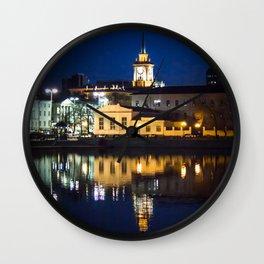 Night town Wall Clock